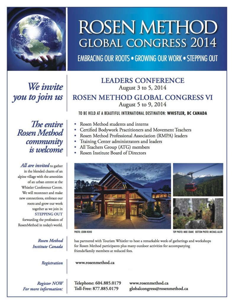 Rosen-Method-Global-Congress-2014