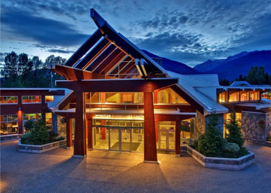 Whistler Conference Centre (photo by Joern Rohde)