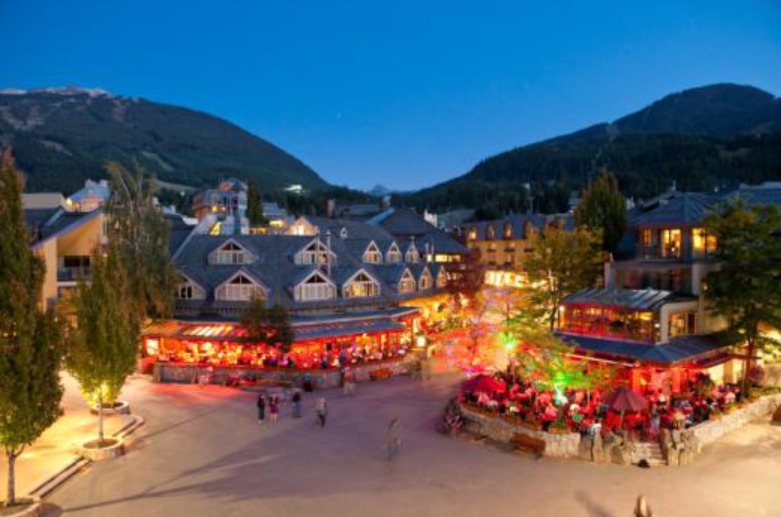 Whistler Village (photo by Mike Crane)